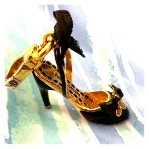 Juicy Couture Jeweled High Heel Charm